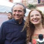 Dora Guzmán y Joan Manuel Serrat