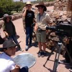 24. El crew antes de grabar su escenaaa en el Charco del IngenioIMG_0558-1